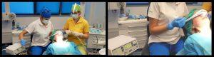 Inhalosedare pentru extractia molarilor de minte